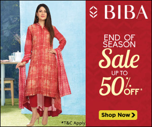 Biba End Season Sale Upto 50% Off