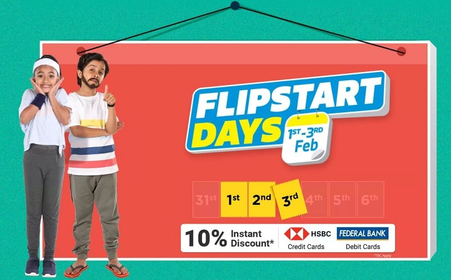 Flipkart ! Flipstart Days Sale