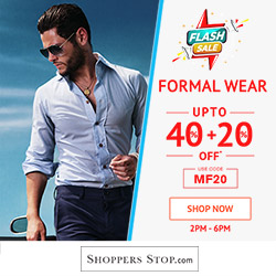 ShopperStop Upto 40 + 20 % Off