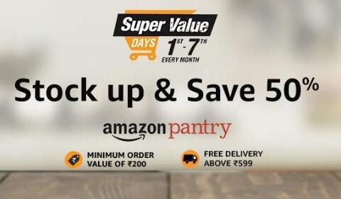 Amazon ! Super Value Days